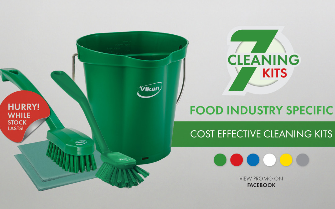 7 Cleaning kits just launched